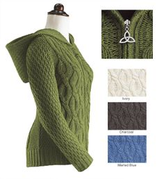 Cable Knit Wrap Sweater by Theme | Fashion | Pinterest | Knit wrap ...
