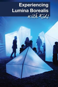 We visit Lumina Borealis with kids at historic Fort Henry in Kingston, Ontario. This interactive lighting exhibit makes for a perfect winter family outing.