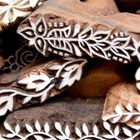 Lady Fingers Henna Wedding Favors Pack Mehindi Wood Block Stamps