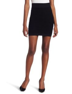 BCBGeneration Women's Seamless Pullup Skirt BCBGeneration. $27.54. Machine Wash. This is a body con skirt. 91% Nylon/9% Spandex. This skirt hits above the knee