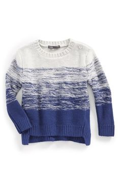 Vince Stripe Sweater (Baby Girls) available at #Nordstrom