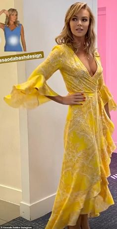 Amanda Holden, Sexy Outfits, Fashion Outfits, Blond, Amanda Bynes, Beauty Full Girl, Girls Dpz, Mellow Yellow, Latest Dress