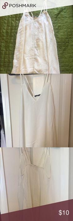 Brandy Melville dress Cute, white Brandy Melville dress. Brandy Melville Dresses