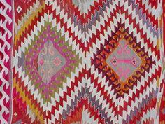 "VINTAGE Turkish Kilim Rug Carpet, Handwoven Kilim Rug,Antique Kilim Rug,Decorative Kelim, Naturel Wool  53,9"" X 75,9"""