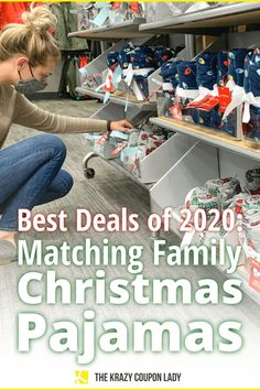 Matching family Christmas pajamas are always a festive hit, especially if you're looking for Christmas card photo ideas or just family picture outfits for family Christmas photos. These are the always updated best deals for matching family pajamas, Christmas onesies, and even pj pants for the holiday season, Christmas Eve, and beyond. The Krazy Coupon Lady shows you where to buy Christmas pajamas and how to save money on every pair! #christmaspajamas #familychristmaspictures #christmaseve