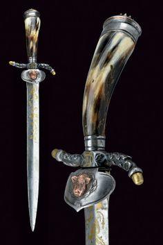 Cuchillo de caza - Siglo XIX