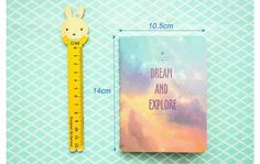 Get lost in your thoughts with this cute sized Space themed note book.  High quality smudge free paper provides and very minimalist design make this one of our favorite products.  Colors will be send by random selection.Hope you are surprised with the order:)
