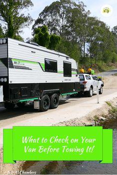 What to Check Before Towing a Caravan - All Around Oz Caravan Hacks, Caravan Ideas, Camper Van Shower, Roadtrip Australia, Australian Road Trip, Gap Year, Camper Trailers, House On Wheels, Caravans