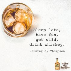 "🍹 ""Sleep late, have"