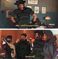 """behaemoth: """"""""You got fired from your cover job, Jesse"""" x """" this is too perfect jfc Overwatch Comic, Overwatch Memes, Overwatch Fan Art, Jobs In Art, Team Fortress 2, Paladin, Funny Games, Funny Comics, Best Games"""