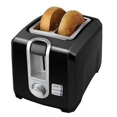 BLACK DECKER T2569B 2-Slice Toaster, Bagel Toaster, Black >>> This is an Amazon Affiliate link. To view further for this item, visit the image link.