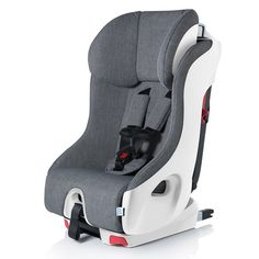 The Clek 2016 Foonf Convertible Car Seat reduce the impact of forces. This kids car seat fits 3-across in back seats.