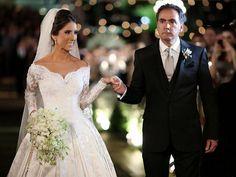 10 vestidos de noiva ombro a ombro - Constance Zahn | Casamentos