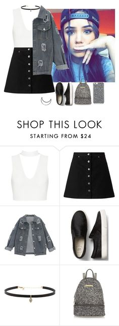"""""""great ˓✽"""" by remooooo ❤ liked on Polyvore featuring Miss Selfridge, Carbon & Hyde and River Island"""
