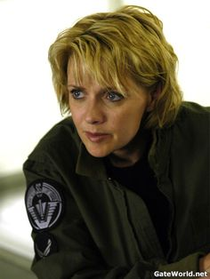 Amanda Tapping as Samantha Carter