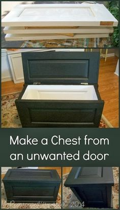 Country Chic: DIY Chest from Doors