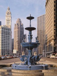 My favorite of all fountains -- Chicago's Children's Fountain!
