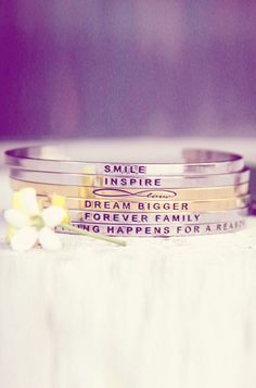 Love me some Mantrabands! #inspirational #jewelry