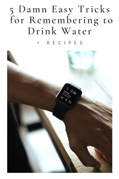 Easy tips and tricks on remembering to drink water and stay hydrated. Plus, recipes for iced tea, cold brew, water infusions, herbal infusions, and lemon water with a twist. Group Fitness, Fitness Nutrition, Diet And Nutrition, Alternative Health, Alternative Medicine, Holistic Healing, Natural Healing, Healthy Kids, Healthy Living