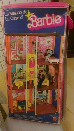 BAGNO BARBIE MATTEL VINTAGE ORIGINALE ANNI 80 | eBay | Anni 80 ...