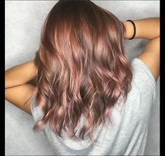 Le rose brown hair, la coloration qui va surpasser le rose gold Le rose gold hair a été l'obsession de l'année 2017. Mais il semblerait que son règne prenne fin avec l'arrivée du rose brown hair, une tendance coloration qui met à l'honneur les brunettes. Décryptage.