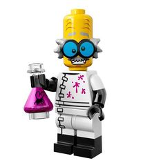 Lego Minifigure Series 14 Mad Scientist Brand New Factory Sealed in Toys & Hobbies, Building Toys, LEGO | eBay