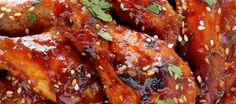 These Sweet And Spicy Sriracha Baked Chicken Wings Are Perfect Game Day Food