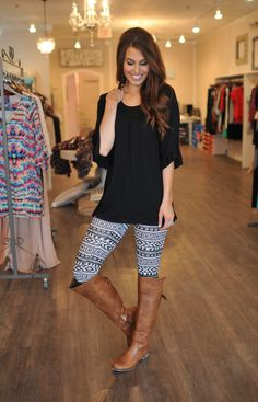 Hate the leggings. Love the long shirt.  It can be worn with multiple leggings.