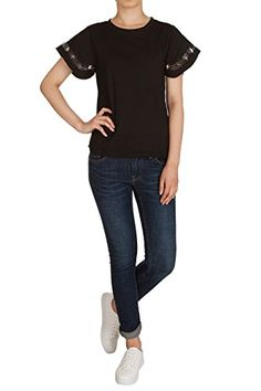 Hipsteration Womens Crew Neck Star Short Sleeve T-Shirts Top Black, M Hipsteration http://www.amazon.com/dp/B01A6NFUZU/ref=cm_sw_r_pi_dp_NE5Kwb0SZ3V96