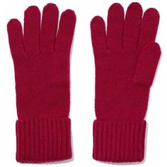 N.PEAL Cashmere gloves ($54) ❤ liked on Polyvore featuring accessories, gloves and cashmere gloves