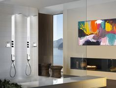 Soffione doccia per installazione ad incasso a controsoffitto - Arredo bagno pozzuoli ...