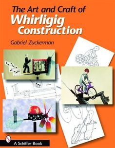 The Art and Craft of Whirligig Construction by Gerald Zuckerman Over 80 patterns with concise instructions to create multiple whirligigs from wood and or metal. An excellent source to get your whirli
