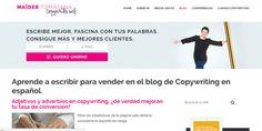 Blog Maider Tomasena; Copywriting