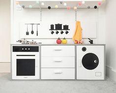 Imagination play kitchen by Nor_Folk aka Fiona Burrage