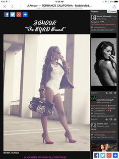 MobileModeling.com, Digital Portfolio website for marketing models, photographers, fashionistas and agencies. Get your feature today! Email us at: empoweringmodels@mobilemodeling.com ❤️ Thanks! Hope to hear from you soon!
