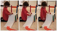 Baby Play Ideas-Rolling exploration
