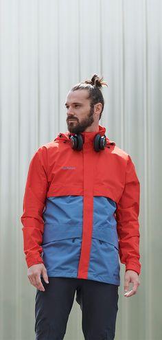Heritage Hooded Hardshell Jacket for Men Gore Tex, Retro Design, Retro Fashion, Hooded Jacket, Hoods, Winter Jackets, Stylish, Men, Collection