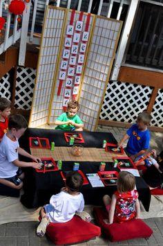 Lego Ninjago Table Settings | CatchMyParty.com