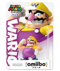 Amiibo Wario Super Mario Series Japan Nintendo 3DS Wii U F/S #Nintendo