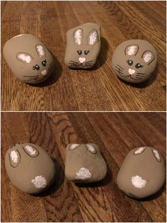 Painted Rock Bunny Rabbit Northeast Ohio Rocks! #northeastohiorocks