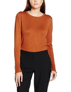 Dorothy Perkins Women's Button Detail Cuff Jumpers  buy now from Amazon
