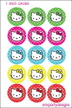 hello kitty bottle cap images - Google Search