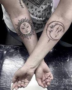 Mother daughter tattoos design ideas 43
