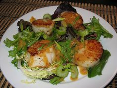 Miso Marinated Scallops | Fit Food | Pinterest | Scallops, Scallop ...