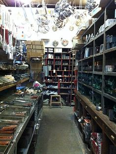 THE place for kitchenware in Paris, E. Dehillerin.  Dehillerin has been around since 1820 and everyone who is anyone in the food world has shopped there. p/p