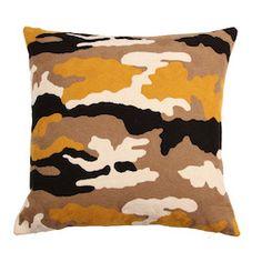 Nushka - 'New Sholto' hand-stitched embroidered cushion £ 210 - Cushions