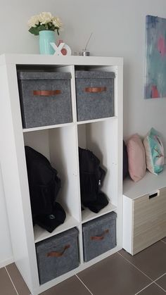 School Bag Storage Ideas Ikea 48 Best Ideas School Bag Storage Ideas Ikea 48 Be… – home office organization ideas School Bag Organization, School Bag Storage, Backpack Organization, Home Organisation, Organization Ideas, Playroom Organization, Ikea Hack Storage, Diy Storage, Storage Ideas
