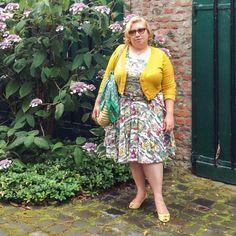French Curves Dolce Vita Miss Kittenheel vintage plussize