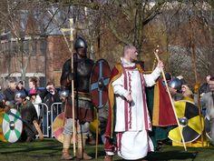York 2013 Viking Festival Anglo Saxon Priest