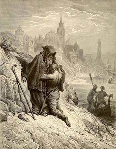 """""""""""O shrieve me, shrieve me, holy man !"""""""" Images from Gustave Doré's illustrations to The Rime of the Ancient Mariner"""